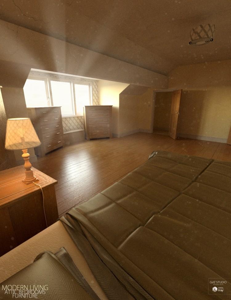 Modern Living Attic Bedroom - Modern Living Attic Bedroom Furniture