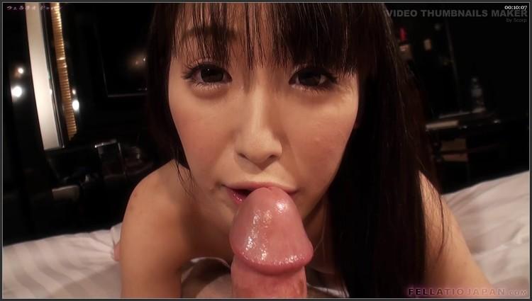 Японки через кольцо губ минет для