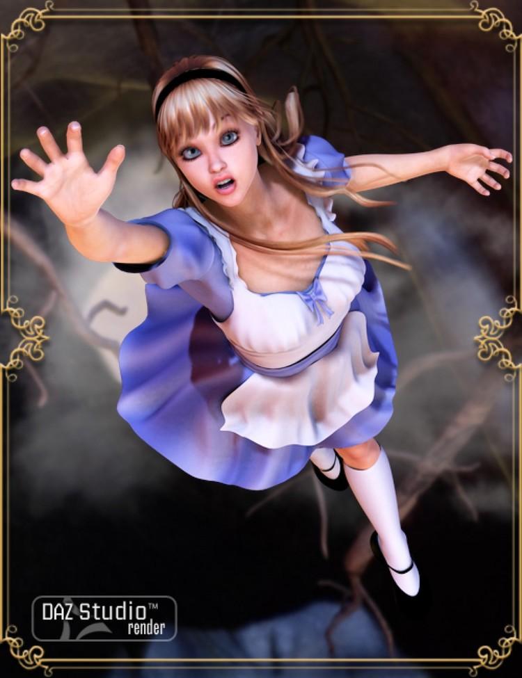 Wonderland Alice V4 - Unimesh Fits - Alys - Gothica - Alexia