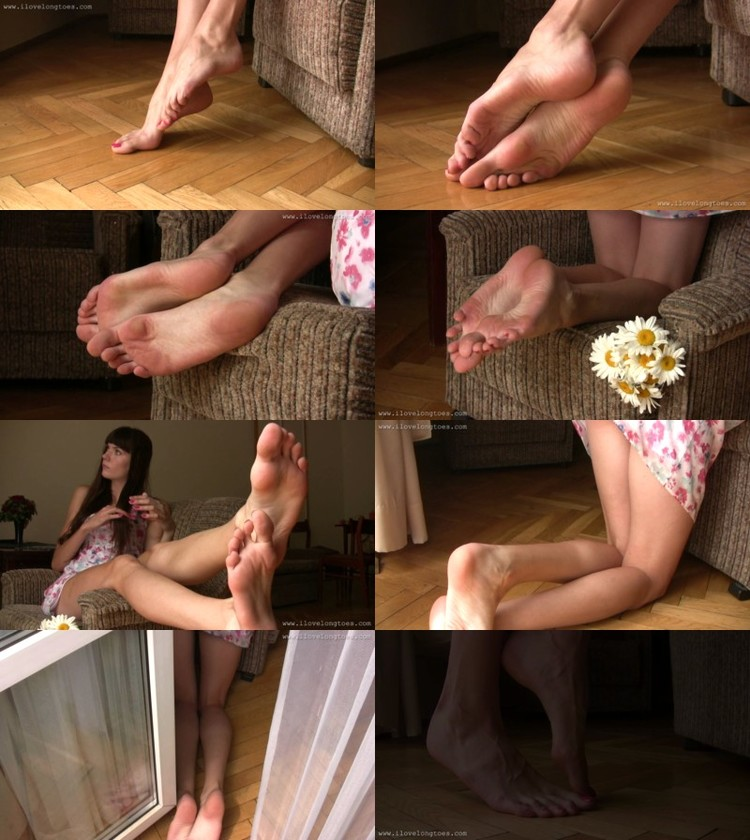 Indian auty foot fetish