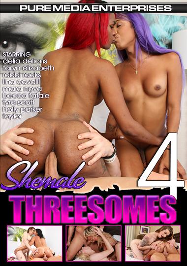 Shemale Threesomes 4 (2017)