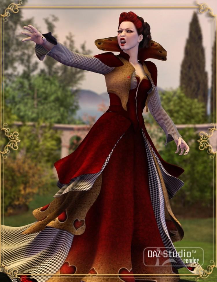 Wonderland Queen of Hearts V4 - Leylana