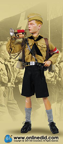 Une poupée Nazie. Did-dragon-in-dreams-wwii-german-hermann-weber-hj-hitler-jugend-324-p