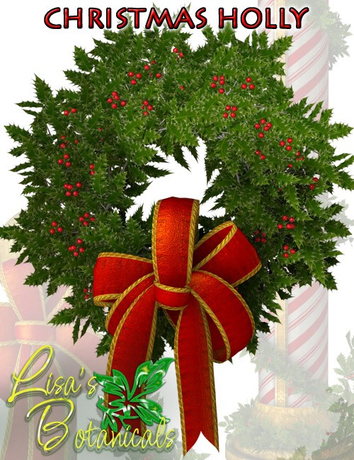 Lisa's Botanicals - Christmas Holly