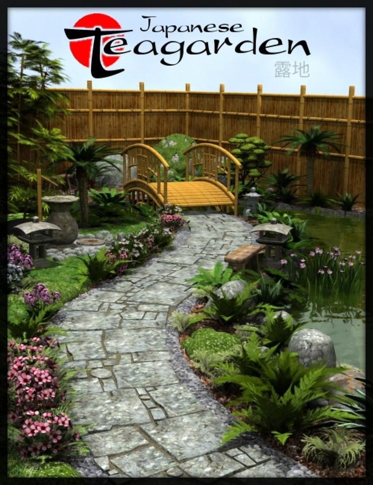 Japanese Tea Garden by Merlin