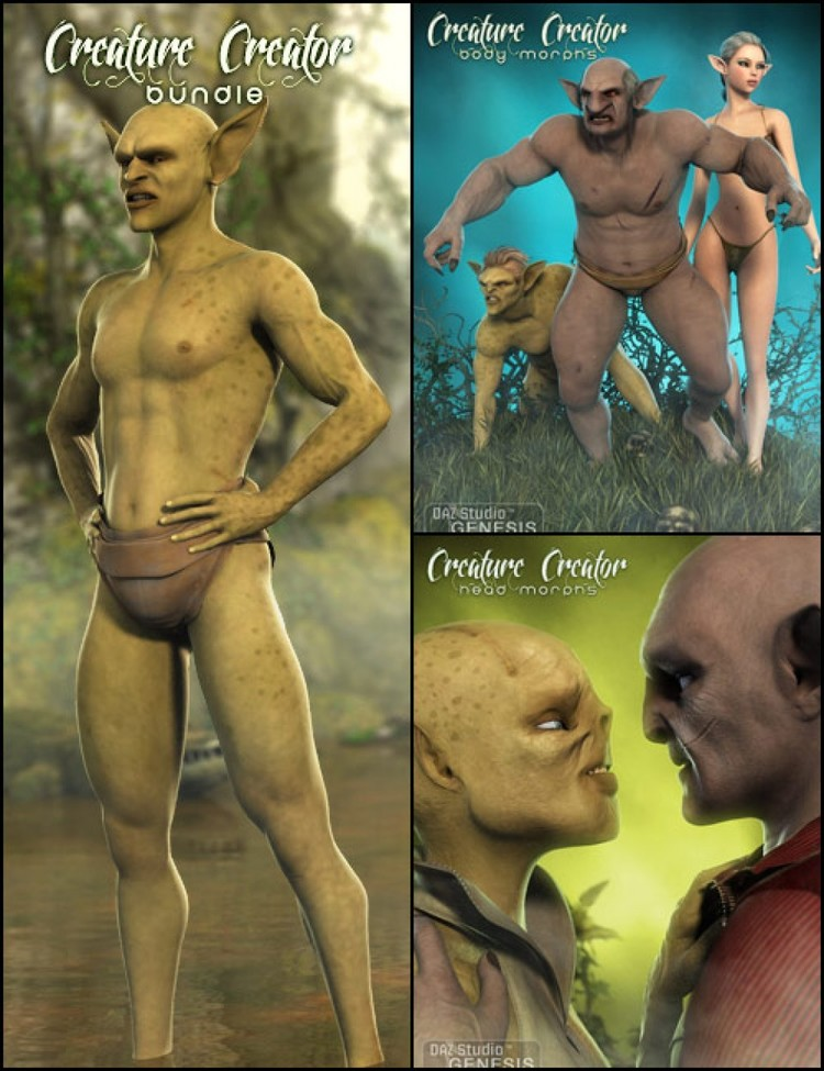 Genesis Creature Creator Bundle