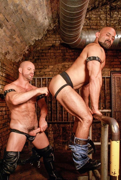 Hairy Hunx - Rocky Torrez and Carlo Cox