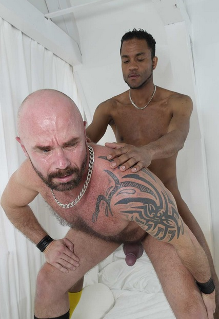 Interracial Daddy Fucking