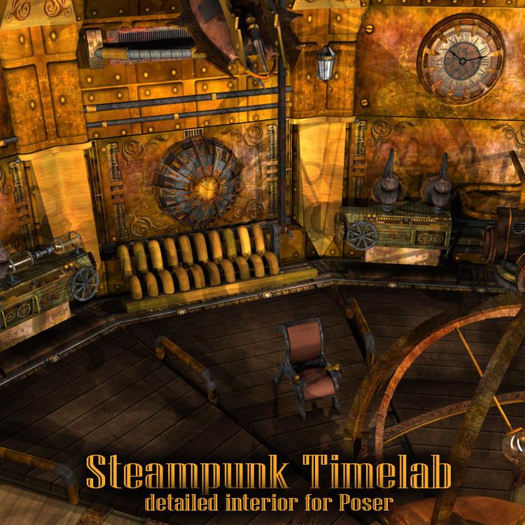 Steampunk Timelab