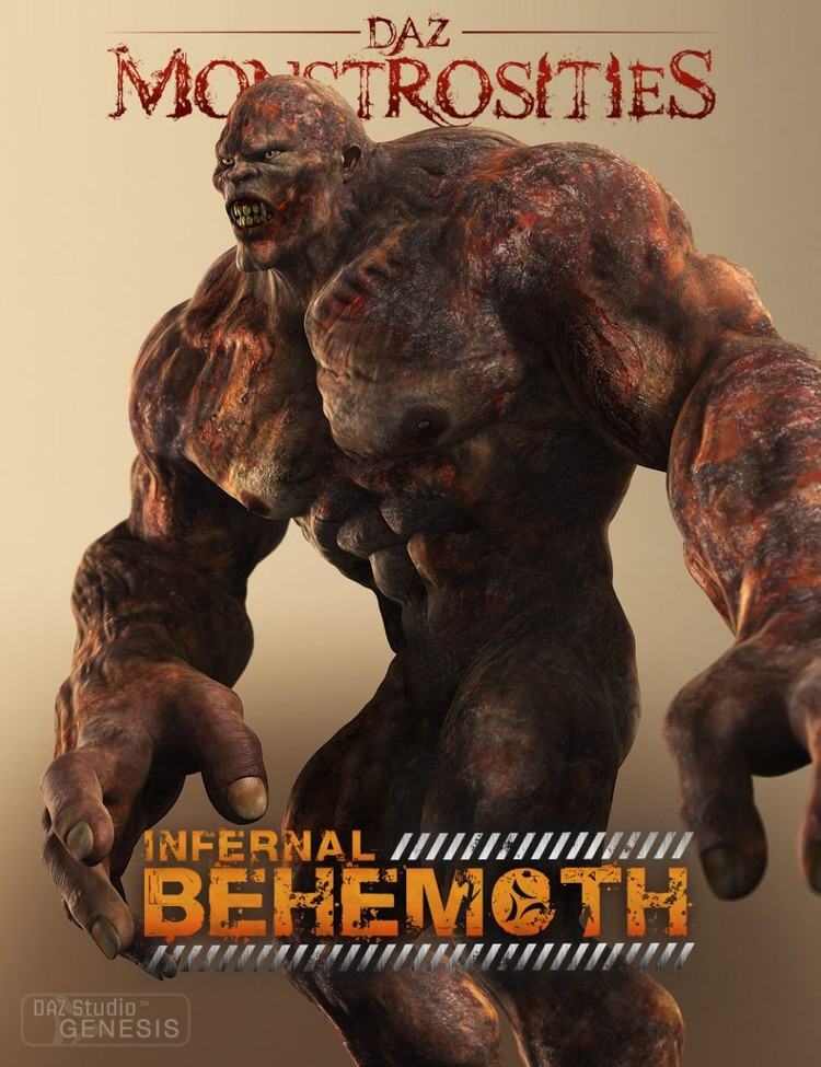 DAZ Monstrosities: Infernal Behemoth