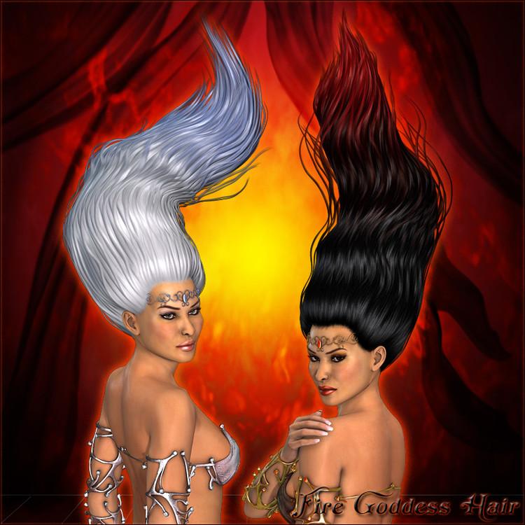 Fire Goddess Hair