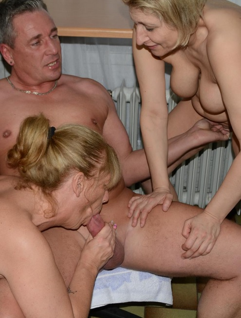 Bbw British Mature Threesome