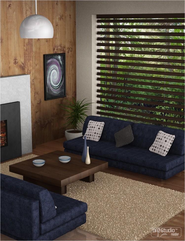 Lux Living Room Scene - Designer for Lux Living Room