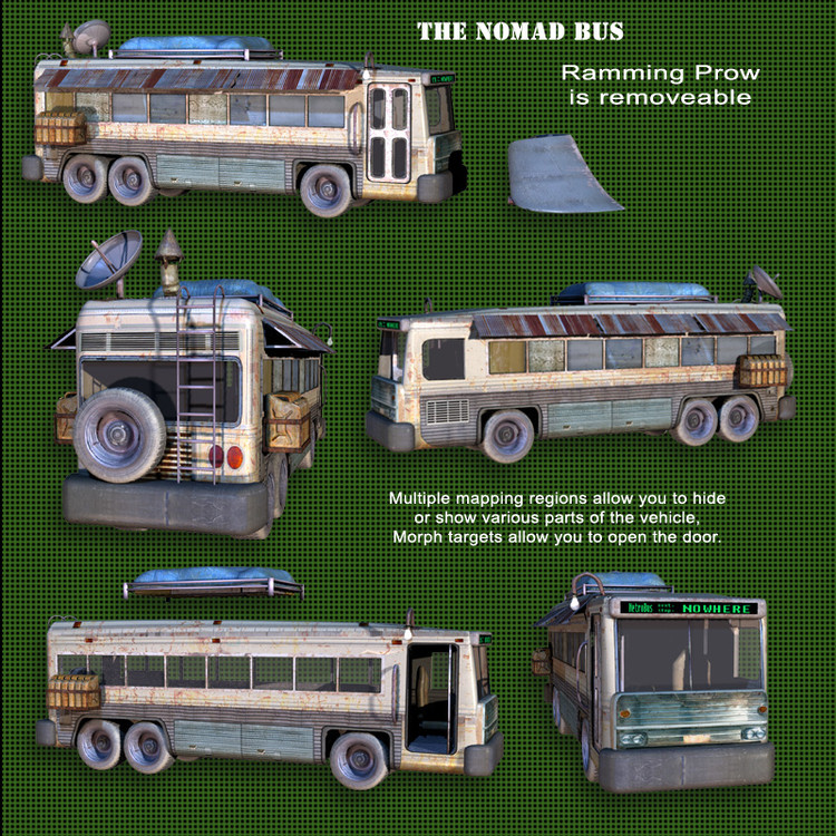 Roaring Out of the Wasteland - Nomad Bus
