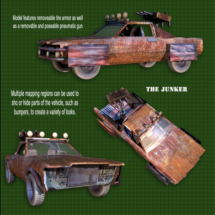 Roaring Out of the Wasteland! - Junker Car