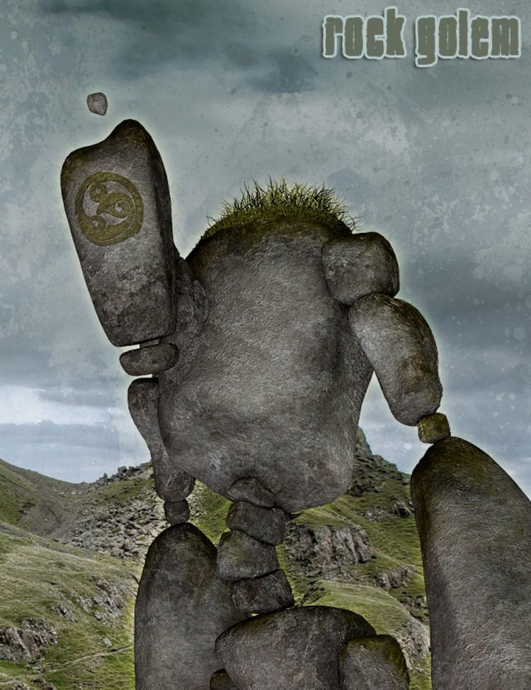 The AntFarm's Rock Golem