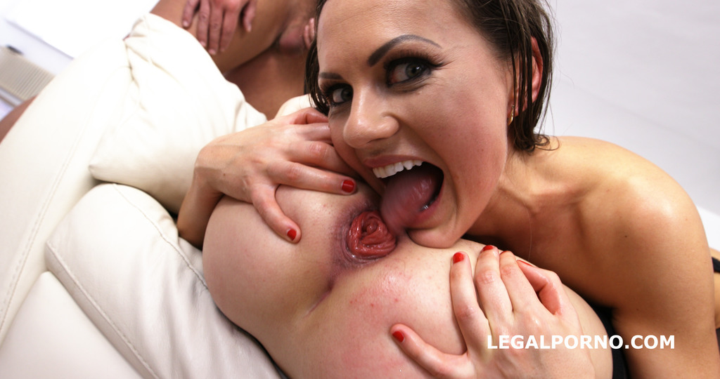 LegalPorno - Giorgio Grandi - Initiation of a slut #3of3 The Battle with Tina Kay & Gabriella GIO371