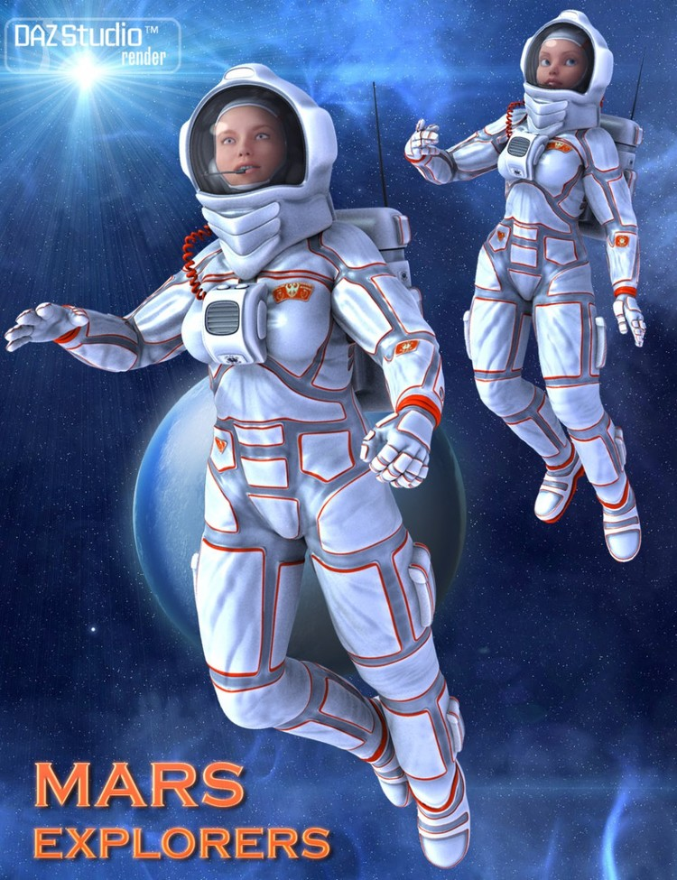 Mars Explorers for Genesis 2 Female(s)