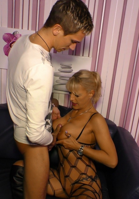 Blonde German MILF Lana Vegas gets cum on tits in dirty POV sex tape