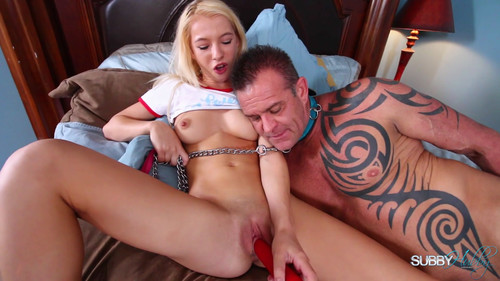 Subbyhubby: Teasing Her Stepfather With Her Pussy