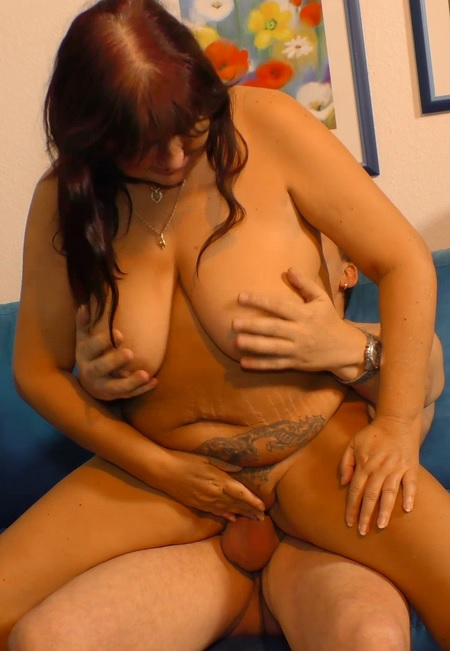 Dirty German amateur Maria H. enjoys a nice heavy fuck with Guenter