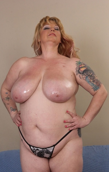 super busty new BBW gets oiled up and fucked hard