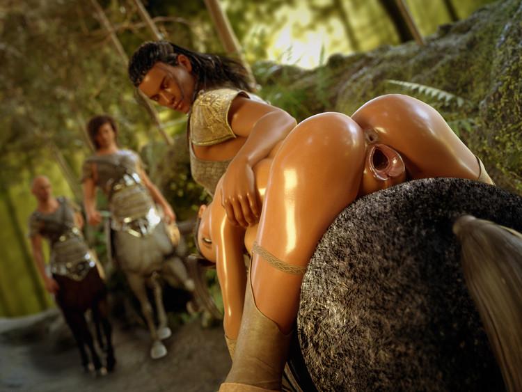 3d centaur porn