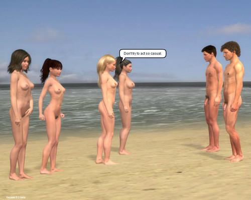 Секс Игра Пляжная Вечеринка
