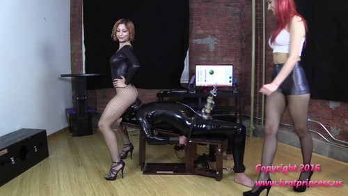 Brat Princess 2: Alexa Amadahy and Lola – Cow Teased during Erection Removal (Part 2) (1080 HD)