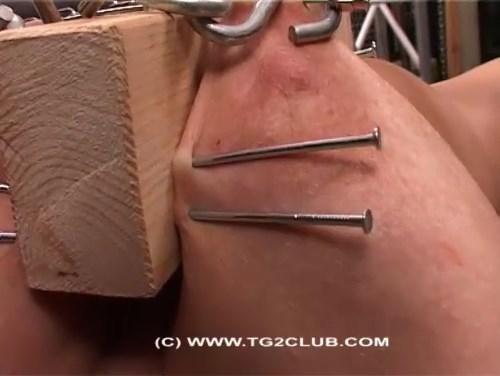 Hook, needles, blood. Hard Torture.