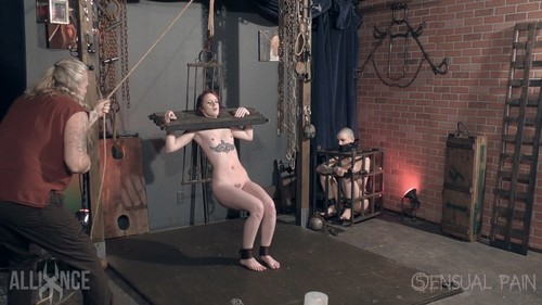Jessica Kay, Abigail Dupree - Whips and Stocks for slave jess / 08.03.17