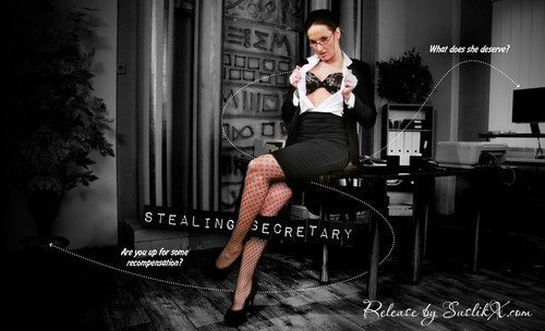 Stealing secretary (lifeselector /SuslikX) [uncen]