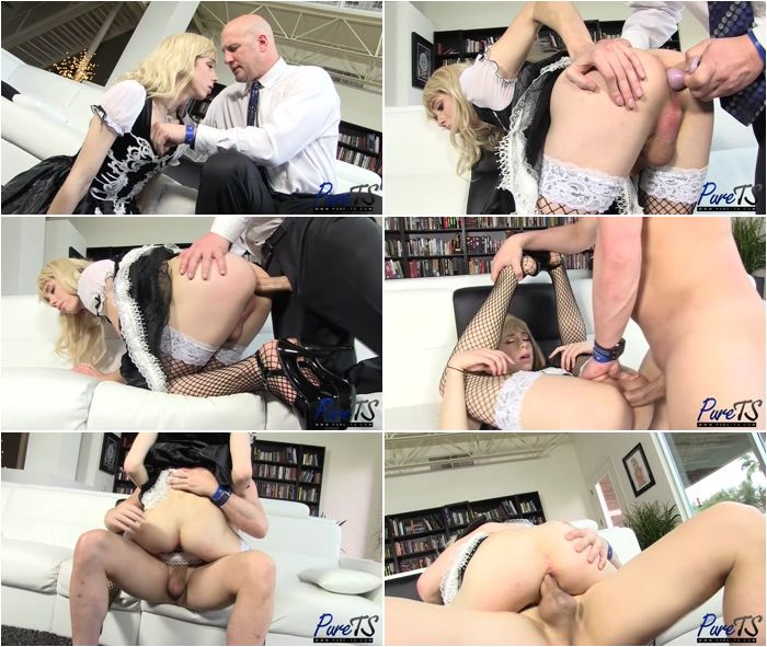 Obedient ts maid does what she is told 2
