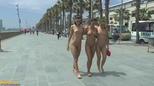 EXI 00001202 m - Daring Public Flashing And Exhibitionists Girls