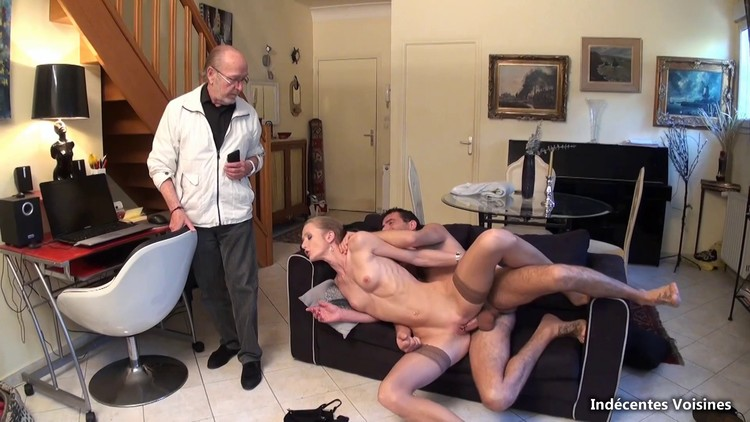 Bien Baisee Chez l'ami Gerard - double vaginal penetration included Full HD1080p