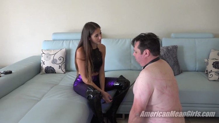 Slap with your cock my face aurora monroe 10