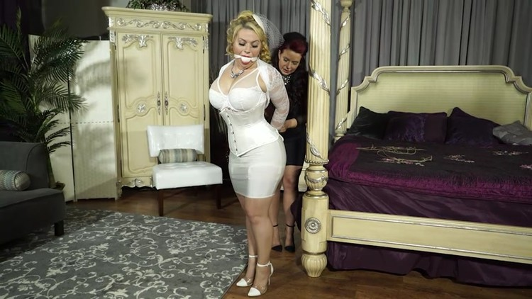 Gagged and roped beauties - Fetish pornBB