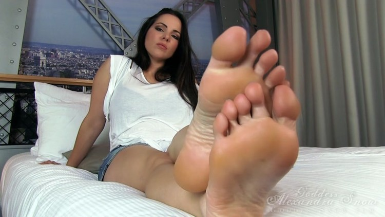 Female foot domination