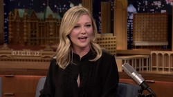 Kirsten Dunst - Opens Up About Her Engagement - Jimmy Fallon (2017) | HD 1080p