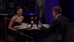 Kendall Jenner - James Corden Ready for the Boxing Ring  (2017)  Cleavage | HD 720p