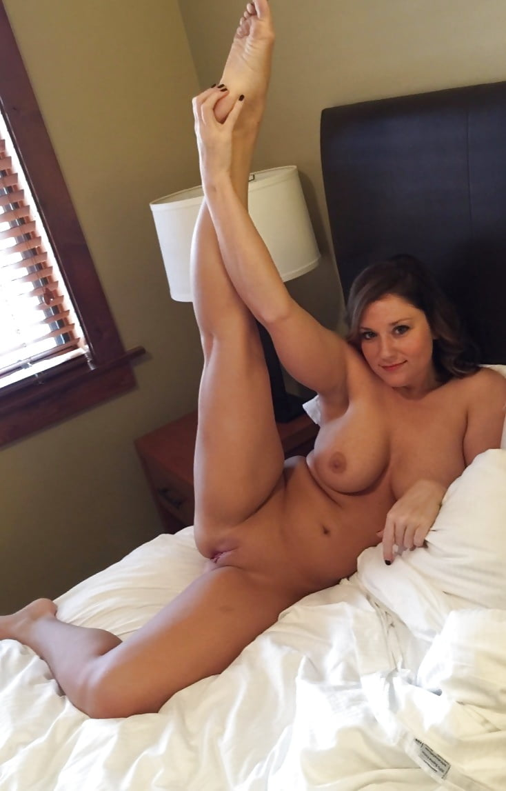 Young Wife Naked In The Bed