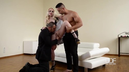 Two Guys Fuck Doll