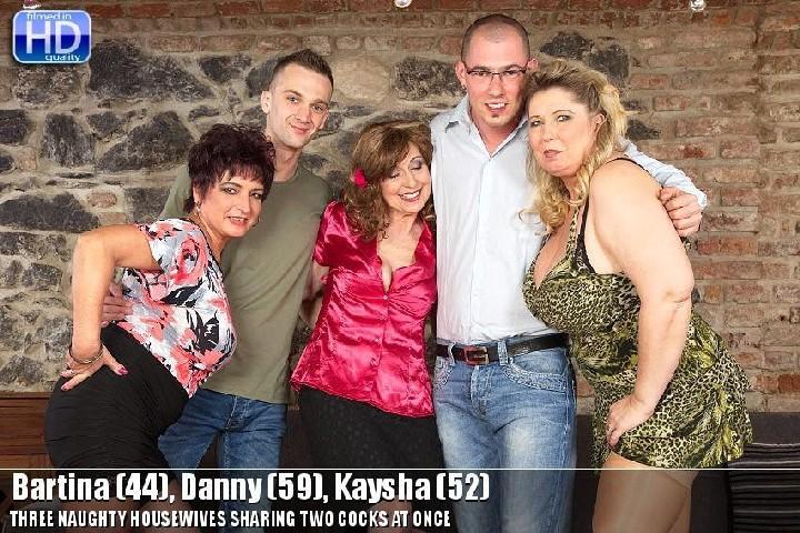 [Mature] Bartina (44), Danny (59), Kaysha (52) (mat-profgroup008)