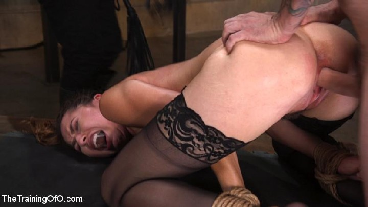 [TheTrainingOfO / Kink] Melissa Moore (Training a Pain Slut: Busty Melissa Moore's First Submission / 42422 / 15.08.17.)