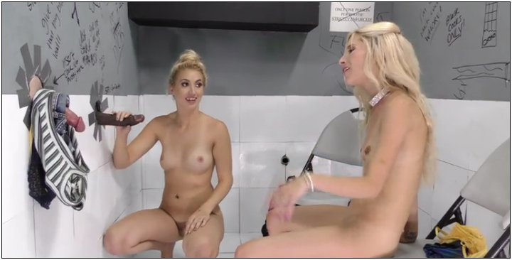 [GloryHole / DogFartNetwork] Piper Perri, Sierra Nicole (14.08.2017) [Interracial, Teen, Blonde, Small Tits, Lesbian, Petite, Piercing, Shav…