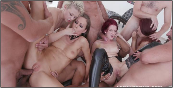 [LegalPorno] Outnumbered both ways Part#2 4 girls vs 6 boys with Tina Kay . Scyley Jam Anna Rey Bree Haze DAP orgy GIO445 / 07.09….