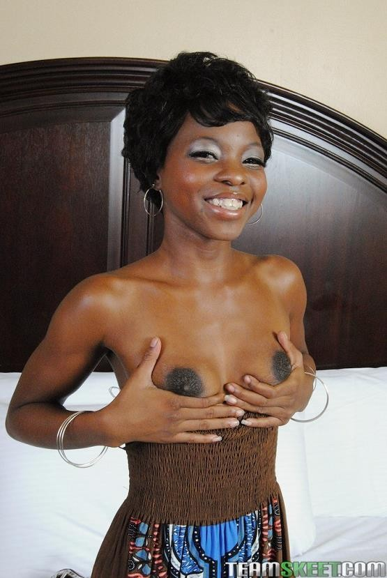 Teeny Black - Ivory Princess in