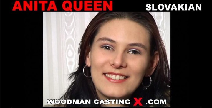 [WoodmanCastingX] ANITA QUEEN [720p/2013, casting, interview, big tits, brunette, posing, no sex]