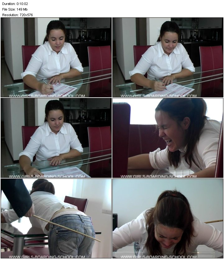 [Girls-boarding-school] - 0525 - Sophie - Without words Stealing [Spanking SiteRip]