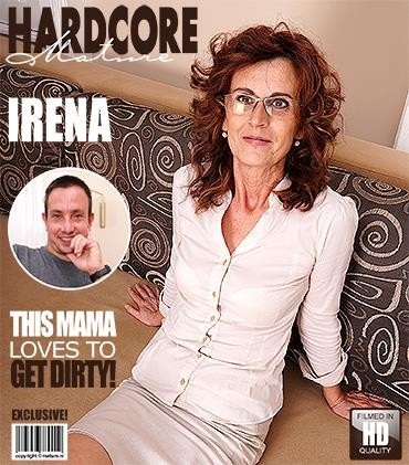 [Mature / Mature] Irena W. (53) (Hairy housewife fucking and sucking / 2017-05-17)